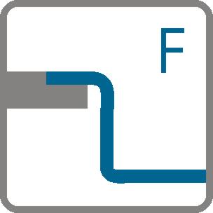Tipuri de instalare ÎNCORPORATE (F)